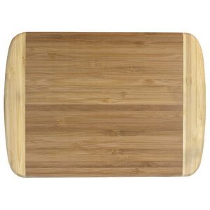 "Totally Bamboo 8"" x 11"" Two-Tone Cutting Board - CLOSEOUT SPECIAL"
