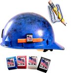 Custom Hard Hat Adhesive Clip Pencil Holder Customized