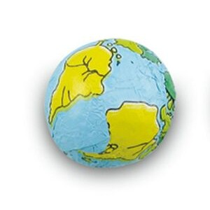 Chocolate Novelty Earth Ball in Bulk