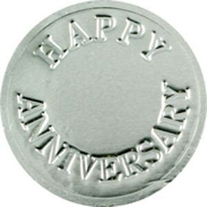 Happy Anniversary Chocolate Coin