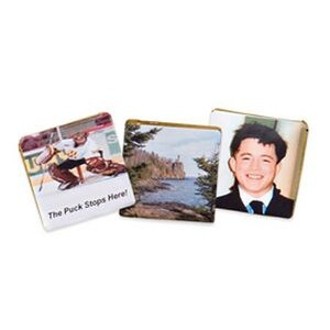 Small 0.4 Oz. Square Photo Chocolate Bar