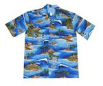 Custom Hawaiian Tropical Print Shirt
