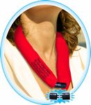 Custom NEW & IMPROVED - RED CooLooP Water Scarf Tax & Broker Fee FREE. ANY DESIGN OR FABRIC COLOR