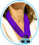 Custom NEW & IMPROVED- PURPLE HEART CooLooP Water Scarf Tax & Broker Fee FREE. ANY DESIGN OR FABRIC COLOR