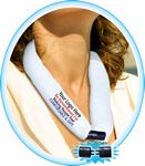 Custom NEW & IMPROVED - WHITE CooLooP Water Scarf Tax & Broker Fee FREE. ANY DESIGN OR FABRIC COLOR