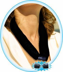 Custom The CooLooP Active Water Scarf (Black sold BLANK Only)