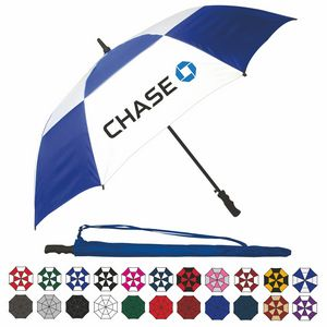 Wind-Vented Automatic Golf Umbrella (60 Arc) Wind-Vented Automatic Golf Umbrella (60 Arc)