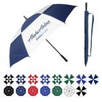 Custom Oversized Golf Umbrella w/ Rubberized Handle (64