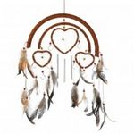 Custom Dreamcatcher Heart Wind Chimes