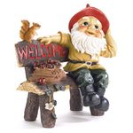Custom Garden Gnome Greeting Sign