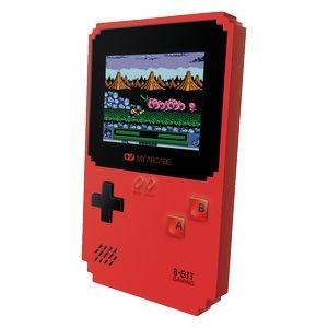 My Arcade Pixel Classic Handheld gaming system with 300 games including