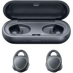 Custom Samsung Gear IconX Wireless Earbuds (Black)