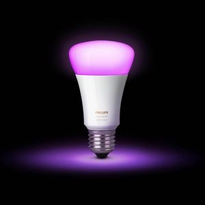 Philips Hue White and Color Ambiance A19 3rd Gen Single Bulb