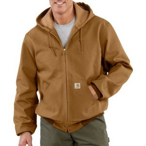 Custom Men's Carhartt Thermal Lined Duck Active Jac