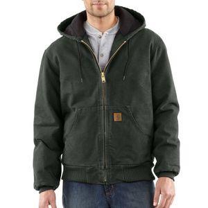 Custom Men's Carhartt QFL Sandstone Active Jac