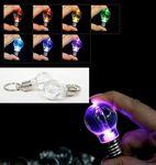 Custom Key Chain w/ Coil LED Light