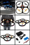 Custom Panther SPY Drone UFO VIDEO CAMERA 2.4 Ghz. Remote Control Quadcopter