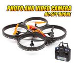 Custom 2.4 Ghz. 4.5 Channel Horizon Spy Drone Picture & Video Remote Control Quadcopter
