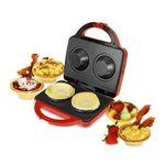 Custom Red Waffle Bowl Maker
