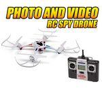 Custom Enforcer 2.4 Ghz. 4.5 Channel Camera RC Spy Drone