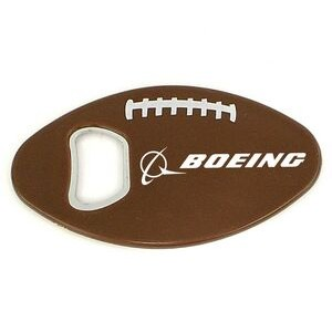 Football Bottle Opener with Magnet (9 Week Production)
