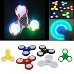 Custom LED Light Up Fidget Spinner