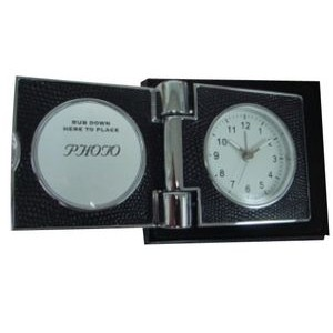 ** Executive Clock Picture Frame