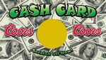 Custom Scratch Off Cards - Cash Card (4.25