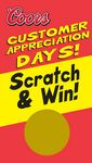 Custom Scratch Off Cards - Customer Appreciation Days (2