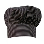 Custom Pinstripe Chef Hat