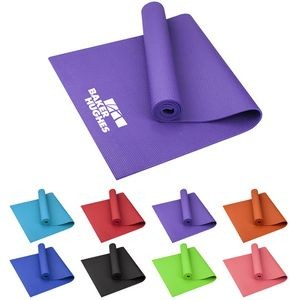 Large PVC Fitness Yoga Mat
