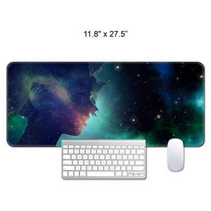 "11.8"" x 27.5"" x 1/12"" X-Large Mouse Pad / Counter Mat"
