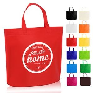 Heat Sealed Large Non-Woven Shopping Tote