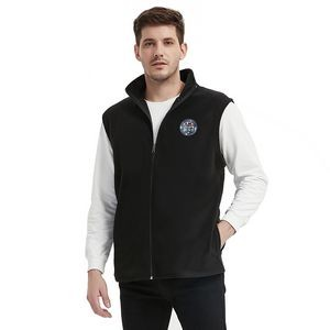 Men's Basic Fleece Vest