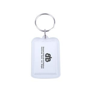 Acrylic Rectangle Key Chain