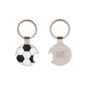 Soccer Ball Keychain and Bottle Opener