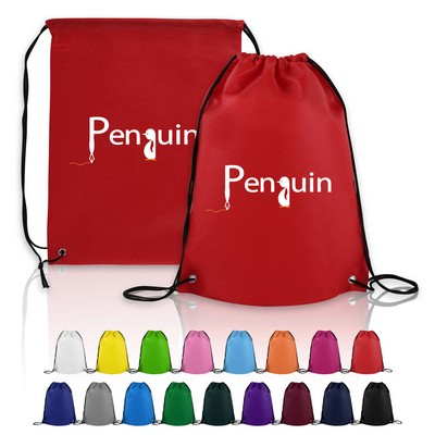 Large Non-Woven Drawstring Backpack