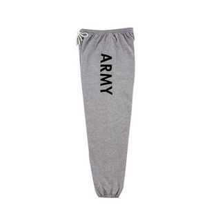 GI Type Army Gray Physical Training Sweatpants (S to XL)