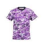 Custom Ultra Violet Digital Camouflage Military T-Shirt (2XL)
