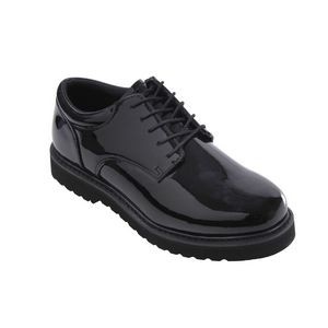 Hi Gloss Uniform Oxford w/Work Sole