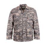 Custom Army Digital Camouflage Battle Dress Uniform Shirt (XS to XL)