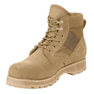"Desert Tan 6"" Military Work Boot"