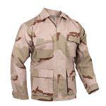 Custom Tri-Color S.W.A.T. Cloth B.D.U. Shirt (2XL)