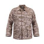 Custom Desert Digital Camouflage Battle Dress Uniform Shirt (XS to XL)