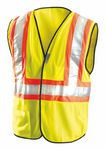 Custom Premium Mesh Fabric Two-Tone Safety Vest