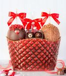 Custom Sweet Elegance Valentine Basket