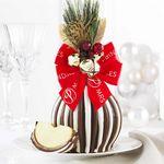 Custom Jingle Bells Jumbo Apple Gift