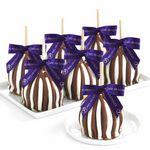 Custom Triple Chocolate Petite 12 Pack Favor Apples