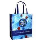 Custom 150g Laminated RPET Shopping Bag Made of Recycled Bottles (14