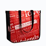 Custom Lulu Lemon Style Rounded-Corner Tote Bag, 15